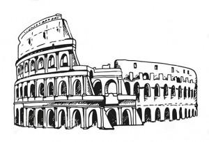 disegno-del-colosseo-illustrazione-di-colosseum-roma-italia-65506949